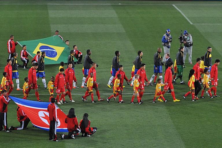 Non-events like Brazil vs North Korea will be more commonplace. | © wikimedia.org