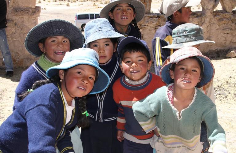 School children in La Paz   © Embajada de Estados Unidos en Bolivia/Flickr