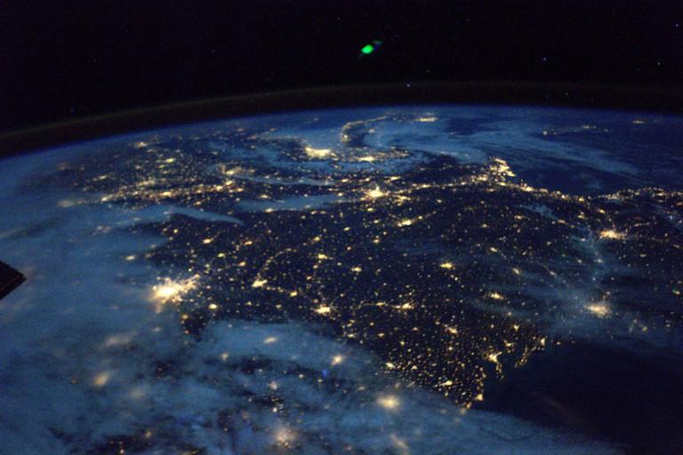 France at night │© ESA/NASA