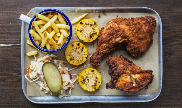 Southern fried buttermilk chicken at The Blues Kitchen | © The Blues Kitchen