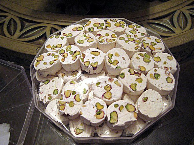Gaz, Persian nougat with pistachios   © Sidster