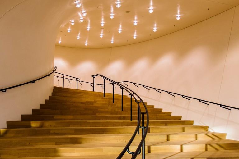 Inside Elbphilharmonie Hamburg