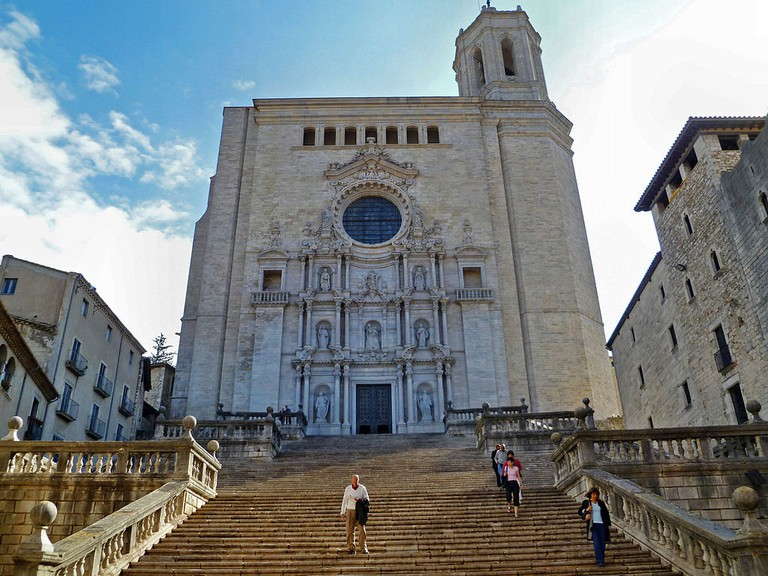 Girona Cathedral | ©Georges Jansoone / Wikimedia Commons