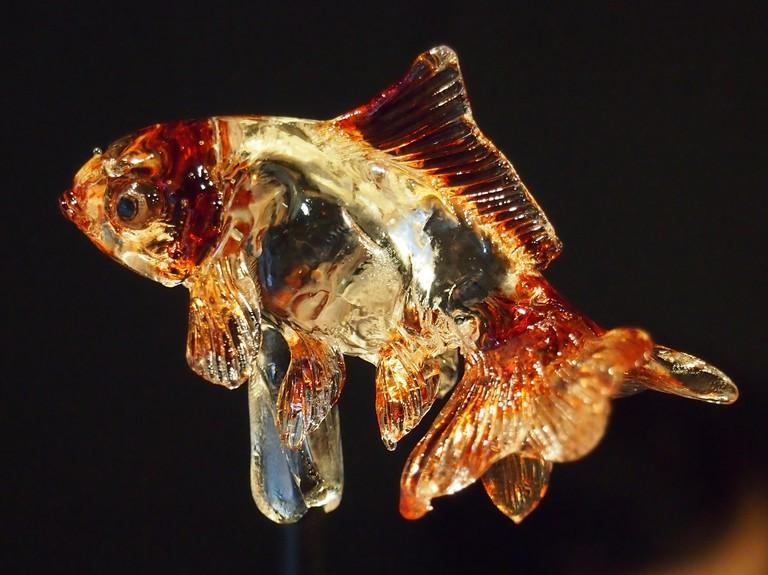 Goldfish amezaiku | © Hiroaki Kikuchi/WikiCommons