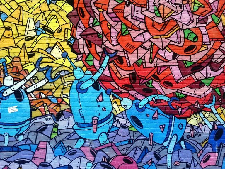 Street art   CC0 Pixabay
