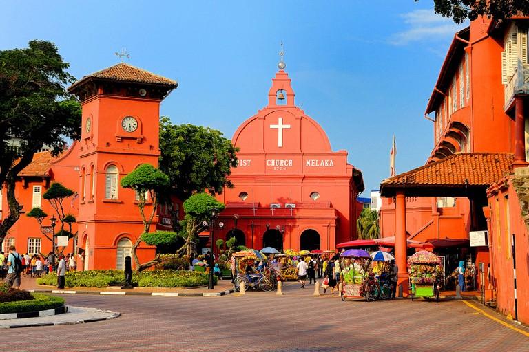 The Stadthuys, Malacca, Malaysia.