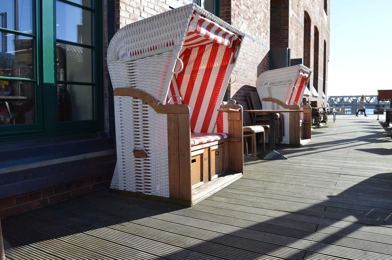 Outside seating Hamburg
