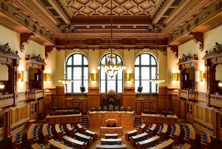 Hamburg City Hall   © Pixabay