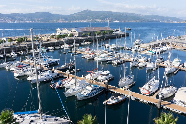 The marina in Vigo, Spain| © Rob Wilson/Shutterstock