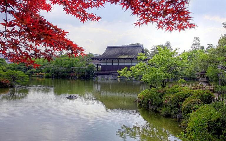 One of the Gardens at Heian Jingu Shrine