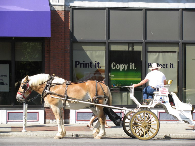 Horse Taxi | © Alex Ford / Flickr