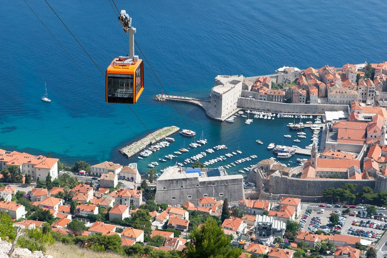 Dubrovnik Cable Car, mount srd, dubrovnik, croatia