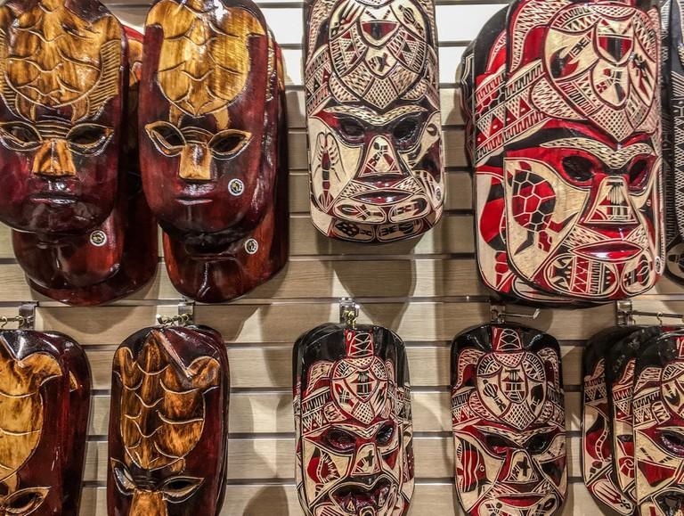 Fijian Mako Masks