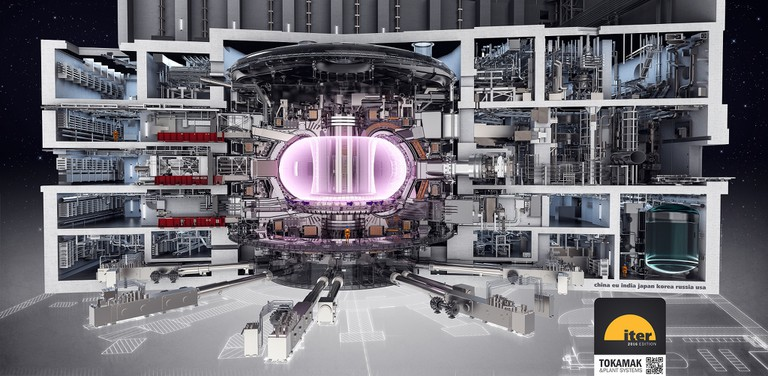 ITER Tokamak and Plant Systems technical drawing │ © ITER Organization