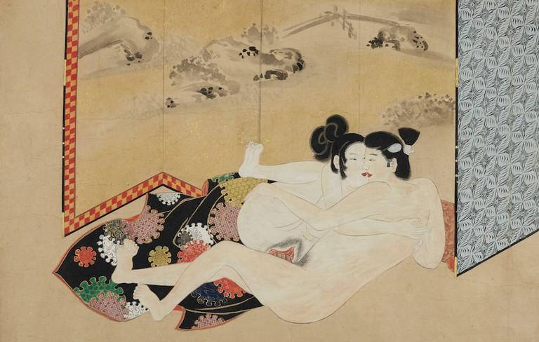Japanese Erotic (Shunga) handscroll Edo Period, late 17th-century (est. £30,000- 40,000)