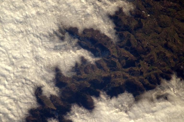 Jura Mountains │© ESA/NASA