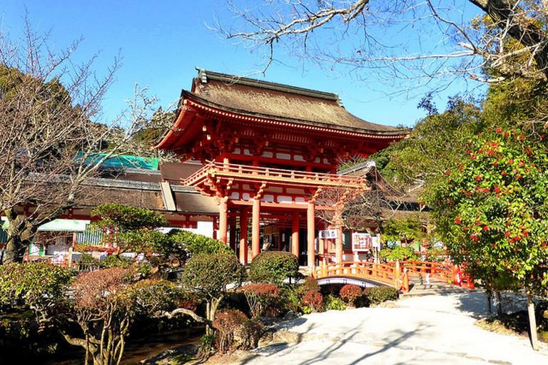 The Romon Gate at Kamigamo Jinja Shrine