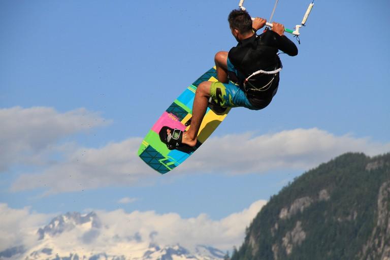 Kitesurfing in Squamish | © Susan Nicole Cinci Csere/Flickr