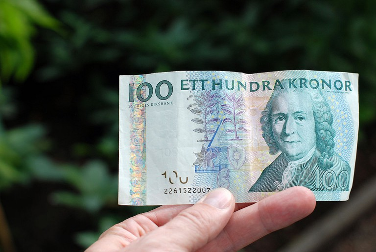 100 Kronor | ©IK's World Trip/Flickr
