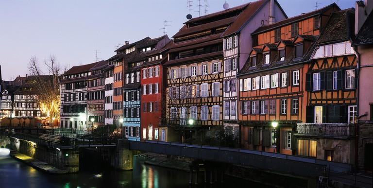 La Petite France area of Strasbourg