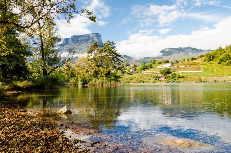 Lac de Saint-André & Mont Granier, Savoie │© Ghislain Mary
