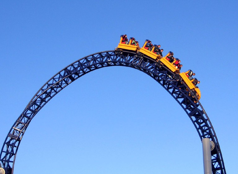 Liseberg hydraulic roller coaster | ©Oliver Mallich/Flickr