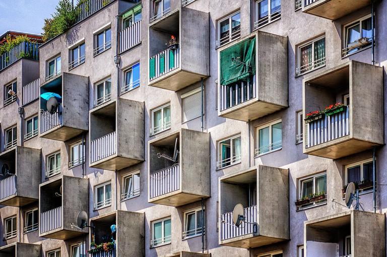Vienna apartment block