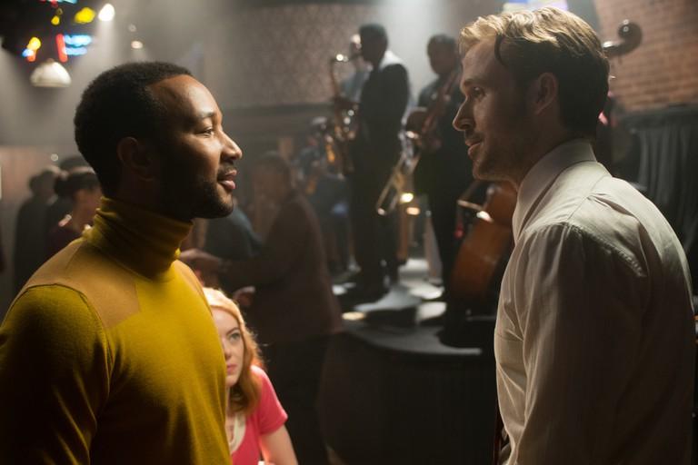 John Legend and Ryan Gosling spend ages 'Jazzplaining' in 'La La Land' | © Lionsgate