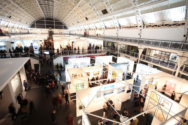 London Art Fair at Business Design Centre. Photo: James Champion