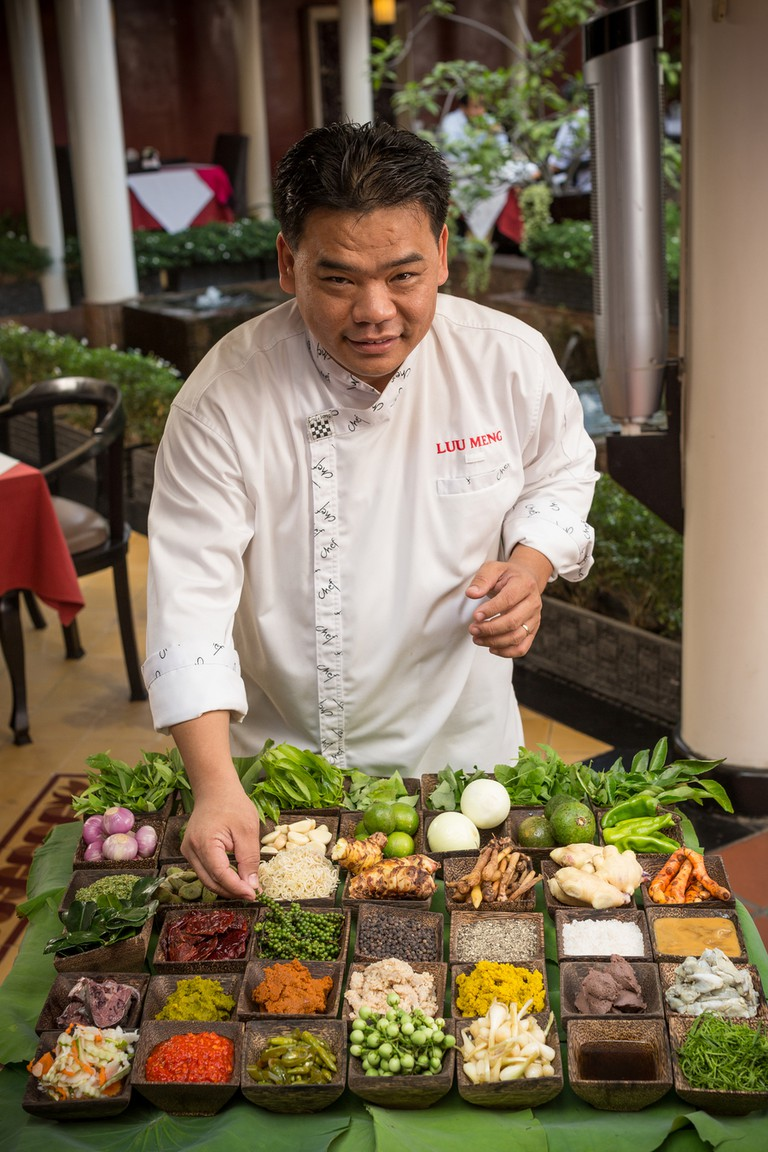 Luu Meng is known as Cambodia's celebrity chef © Cambodia Restaurant Association