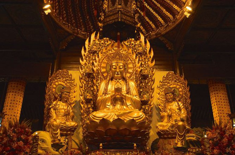 Maitreya Buddha | © Mathias Apitz/Flickr