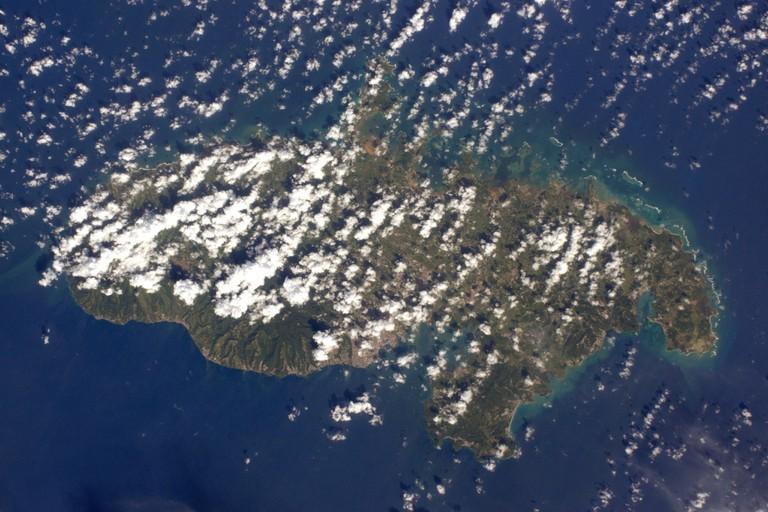 Martinique │© ESA/NASA