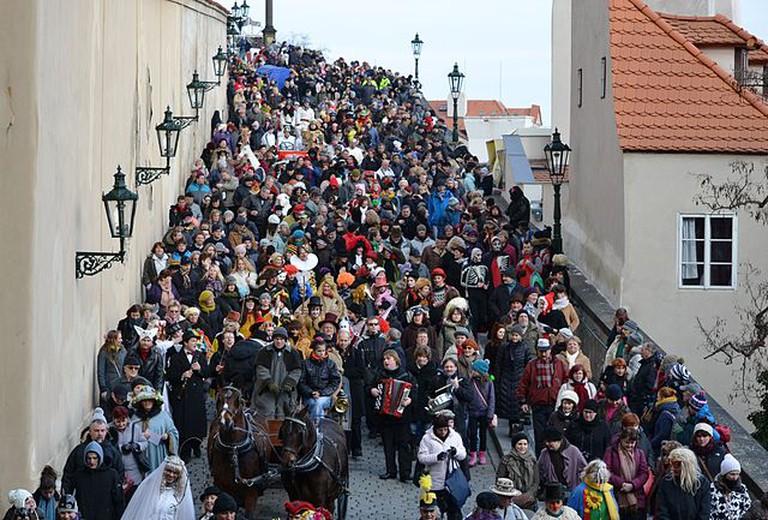 Masopust Parade | ©David Sedlecký / Wikimedia Commons