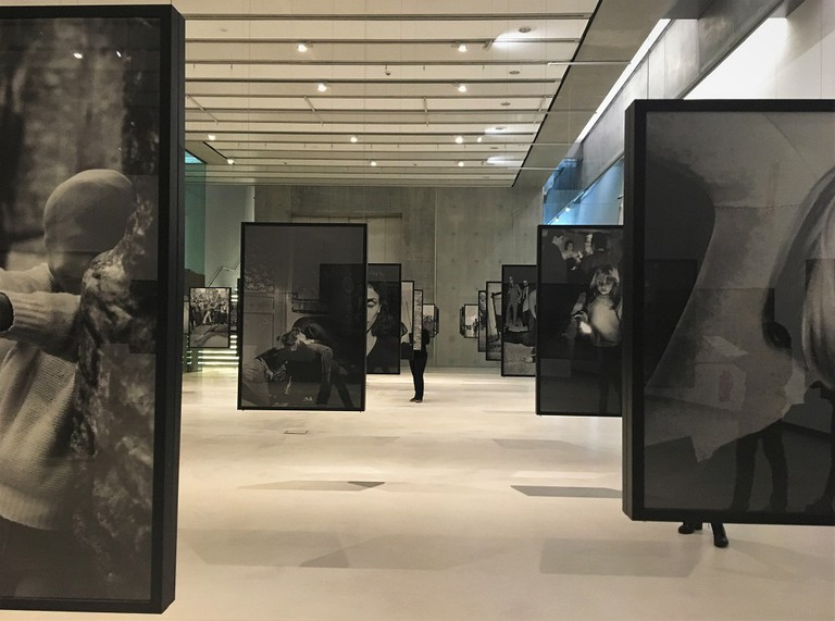 Exhibition view of Battaglia's Per Pura Passione at the MAXXI, Courtesy Photo | Lisa Morales