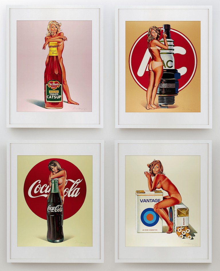 Tomato Catsup; Tobacco Red; Lola Cola; and A.C. Annie (4 works),1972 (£5,000-7,000)