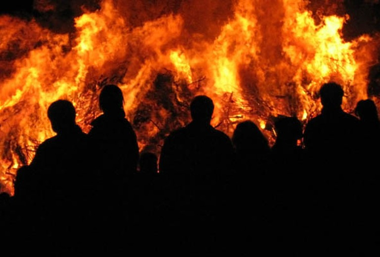 Burning of the Witches bonfire | ©Juultje / Wikimedia Commons