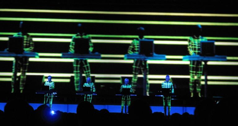 Kraftwerk performing at MIF 2009 | © Wikimedia