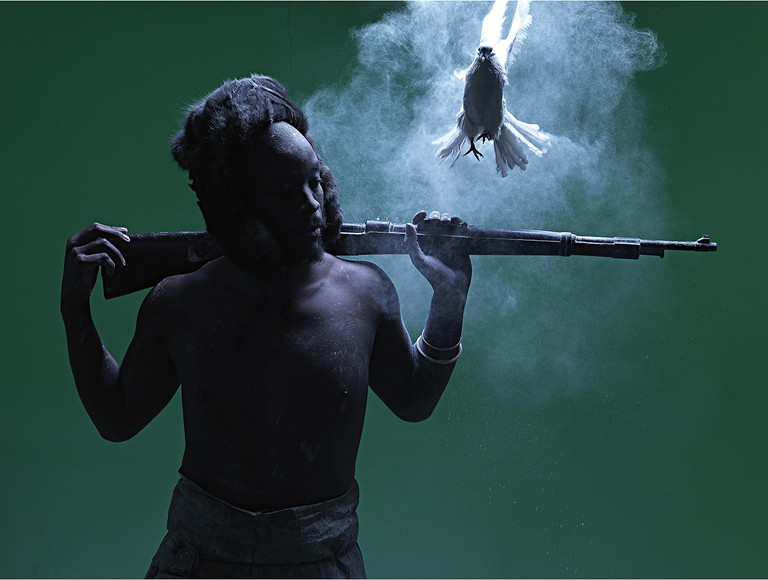 From the exhibition series Ditaola © Mohau Modisakeng / Courtesy of Mohau Modisakeng