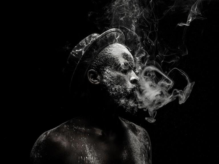 From the photographic series Untitled (2015) © Mohau Modisakeng / Courtesy of Mohau Modisakeng