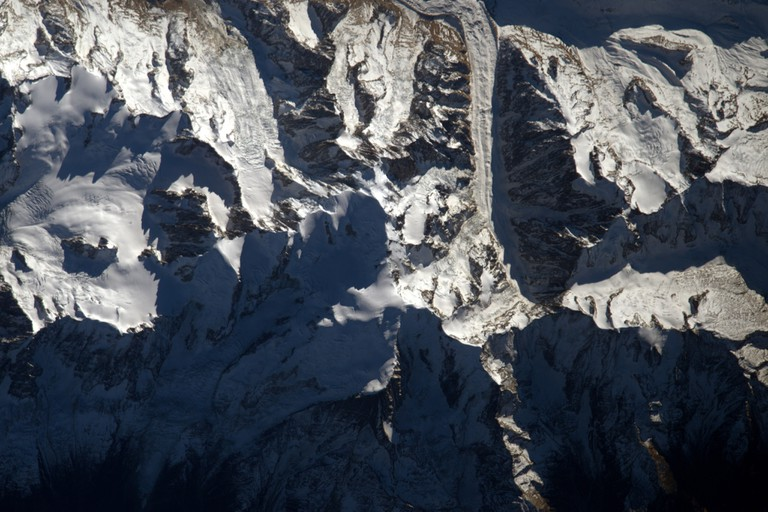 Mont Blanc │© ESA/NASA