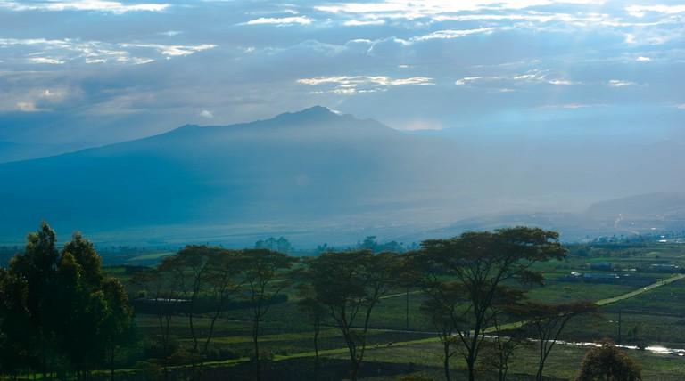 Mt. Longonot | © Xiaojun Deng / Flickr