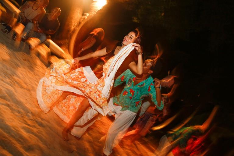 Mutcha Dancers performing at Paradise Sun Hotel, Praslin | ©MC1 Photography