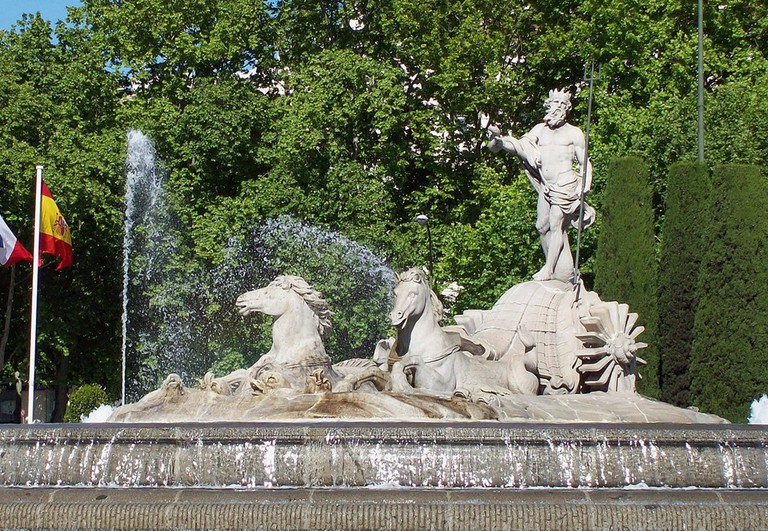 Madrid's Neptune Fountain | © Luis García/Wikipedia