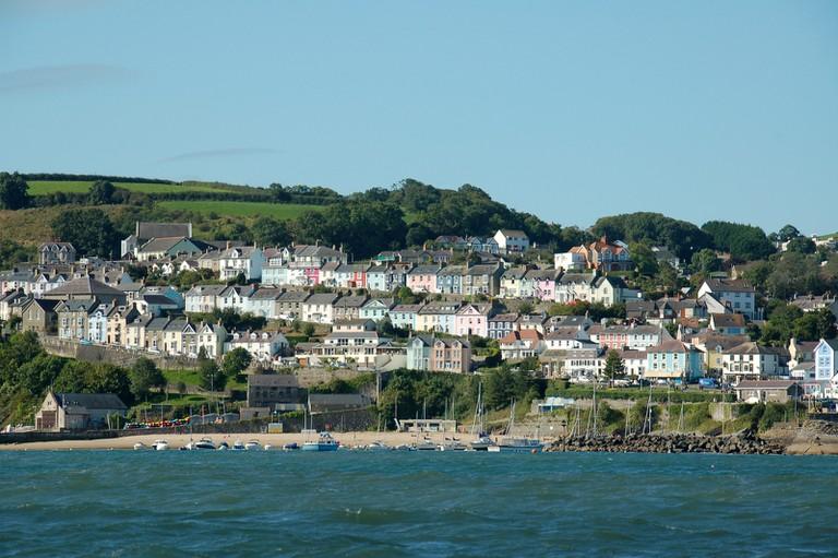 New Quay seaside|©James Stringer/Flickr