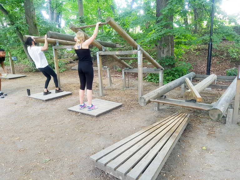 Outdoor gym in Stockholm | ©CucombreLibre/Flickr
