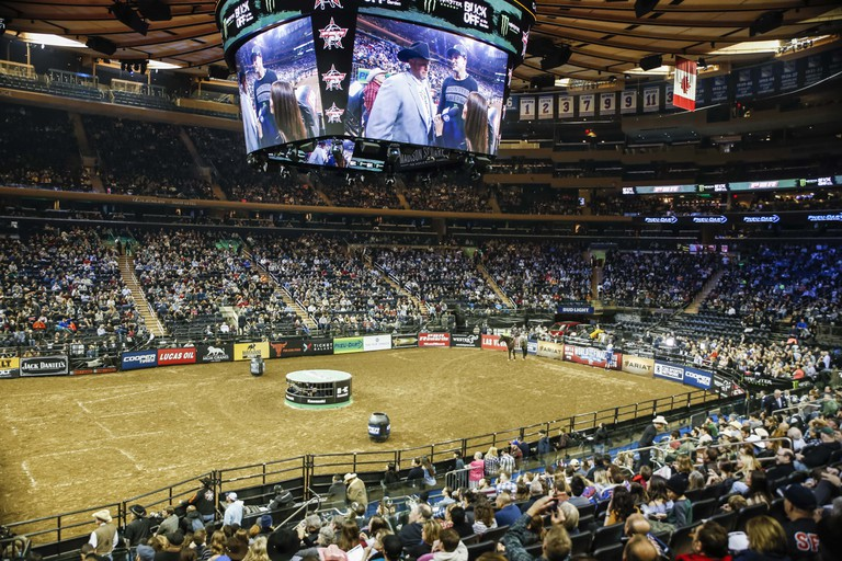 Crowds filled Madison Square Garden for PBR despite a snow storm in early January | ©Amanda Suarez/Culture Trip