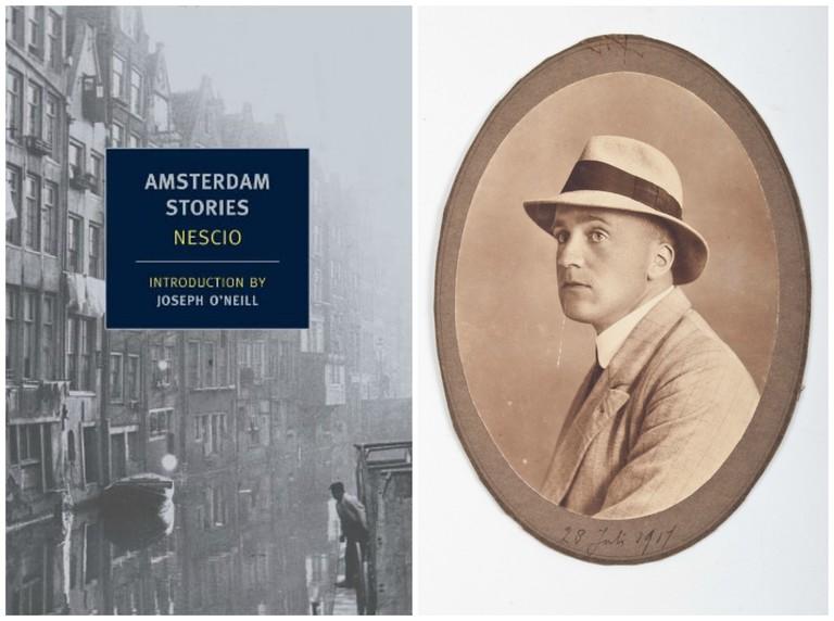 Amsterdam Stories | © NYRB Classics / Amazon.com | A portrait of Nescio | © Zwiggelaar auctions / WikiCommons