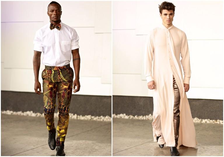 David Tlale Mercedes-Benz Fashion Week Africa © Simon Deiner Photography / SDR Ramp