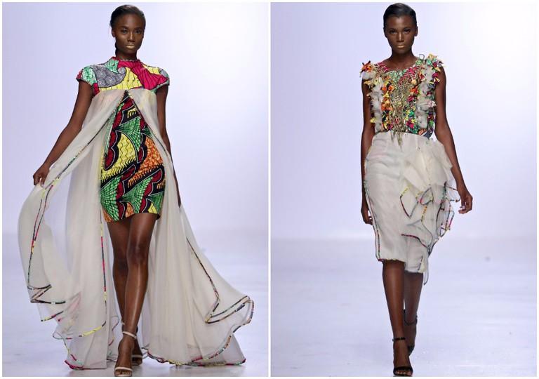 David Tlale Lagos Fashion Week 2016 © Simon Deiner Photography / SDR Ramp