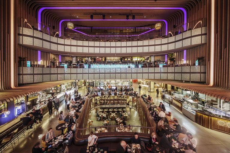 Platea food market is located in what used to be a theater |© Platea Market